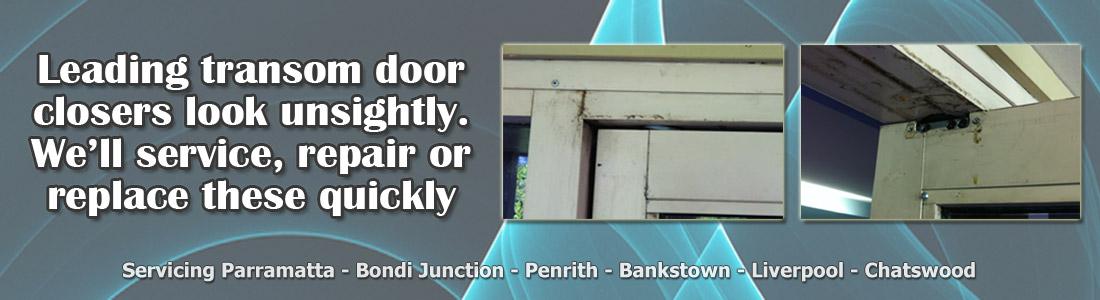 transom door closer repairs sydney